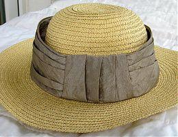 Hutband aus Polyesterstoff